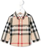 Burberry New Classic Check shirt - kids - Cotton - 6 mth