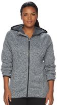 Tek Gear Plus Size Fleece Full-Zip Hoodie