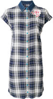 Diesel checked shirt dress