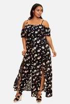 Fashion to Figure Casablanca Floral Maxi Dress