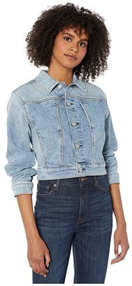 7 For All Mankind Triple Needle Slant Pocket Jacket (Retro Ventura Blvd) Women's Clothing