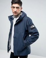 The North Face 1990 Mountain Jacket Hooded In Navy Shot