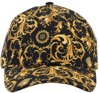 Versace Heritage Printed Cotton Baseball Hat