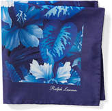 Ralph Lauren Floral Silk Pocket Square