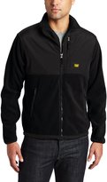 Caterpillar Men's Fleece Jacket With Overlay