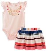 Kate Spade Infant Girls' How Charming Bodysuit & Skirt Set - Sizes 12-24 Months