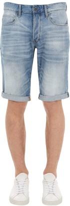 G Star 3301 Sato Cotton Denim Shorts