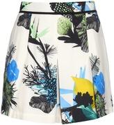 Proenza Schouler Ikebana floral-print shorts