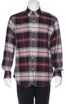 Black Fleece Plaid Woven Shirt