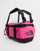 The North Face Base Camp extra small duffel bag 31L in dark pink