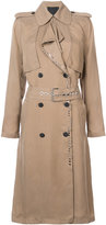 Alexander Wang long trench coat - women - Viscose - S