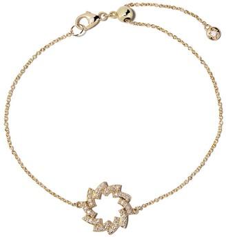Astley Clarke 14kt yellow gold Icon Scala Cirque diamond bracelet