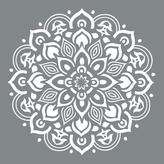DecoArt Americana Decor 10 in. x 10 in. Mandala Stencil