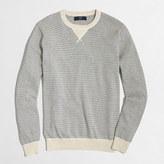J.Crew Factory Tall striped sweatshirt sweater