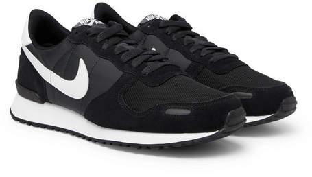 Nike Air Vortex Suede, Nylon And Mesh Sneakers - Black