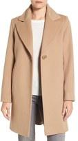 Fleurette Loro Piana Wool One-Button Coat