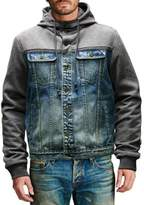 Cult of Individuality Heritage Hooded Denim Jacket