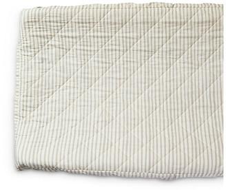 Pehr Stripes Away Cotton Change Pad Cover - Pebble Pebble/white