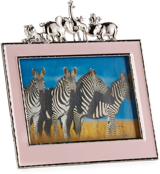 "Michael Aram Girls' Animals 5"" x 7"" Picture Frame, Pink"