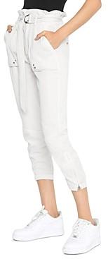 Pam & Gela Cropped Paperbag Waist Pants