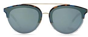Krewe Unisex Clio 24K Aviator Sunglasses, 64mm