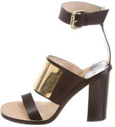 By Malene Birger Leather Multistrap Sandals