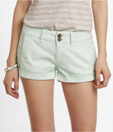 Express 2 1/2 Inch Weathered Seamed Shorts