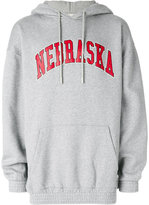 Off-White Nebraska hoodie - men - Cotton - XXS