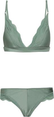 Zimmermann Lace-trimmed Bikini