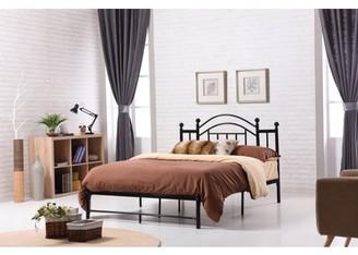 Hodedah Metal Bed, Multiple Colors