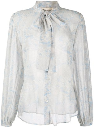 Semi-Couture Semicouture paisley floral print blouse