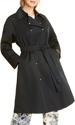 Marina Rinaldi Tulipano Rain Trench Coat