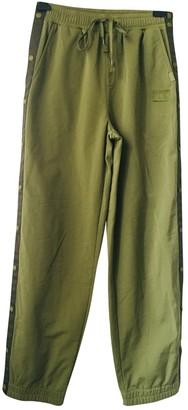 FENTY PUMA by Rihanna Green Trousers for Women