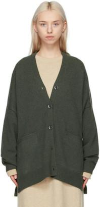 Extreme Cashmere Khaki Cashmere N24 Tokio Cardigan