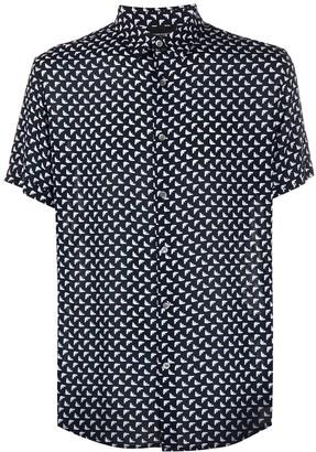 Emporio Armani All Over Print Shirt