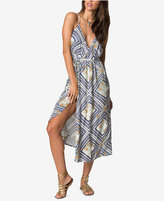 O'Neill Juniors' Leelee Printed Wrap Dress