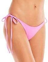 Thumbnail for your product : Frankie's Bikinis Sky Side Tie Bikini Bottom