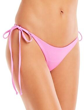 Frankie's Bikinis Sky Side Tie Bikini Bottom