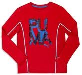 Puma Boys' P-U-M-A Graphic Top - Little Kid