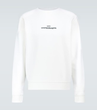 Maison Margiela Upside down logo sweatshirt