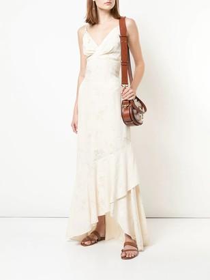 Johanna Ortiz Draped-style Long Dress White