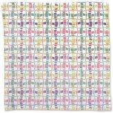 uneekee Woven Dance Napkin Linen Woven Polyester Custom Printed