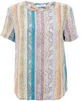 Equipment Riley Rainbow Silk T-Shirt
