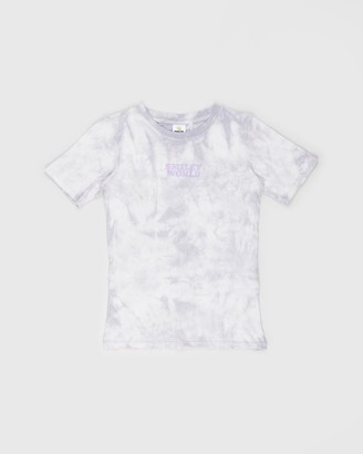 Cotton On Girl's Purple Printed T-Shirts - Co-Lab Short Sleeve Tee - Kids-Teens - Size 2 YRS at The Iconic