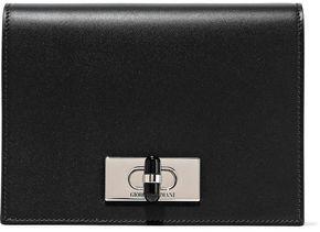Giorgio Armani Calliope Mini Leather Shoulder Bag