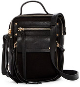 Kooba Phoenix Leather Trimmed Camera Bag