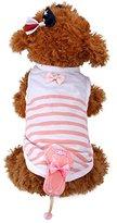ღ Ninasill ღ Vest Shirt Pet Dog Puppy Vest Clothes Dog Clothes (S, Pink)