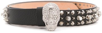 Philipp Plein Studs belt