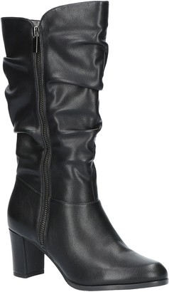 Easy Street Shoes Mid Shafted Slouch Boots-Mara