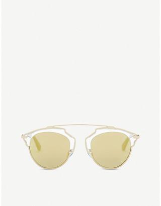 Christian Dior So Real round frame sunglasses